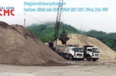Địa chỉ cung cấp báo giá cát xây dựng 2020 chất lượng cao