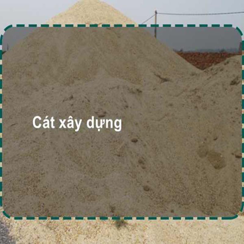 Giá cát xây dựng đa dạng chủng loại