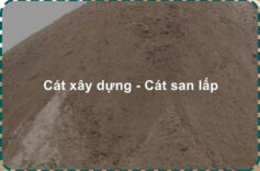 Giá cát san lấp đa dạng chủng loại